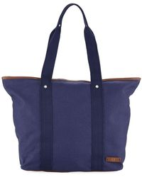 Fred Perry - Men's Zip-top Canvas Tote Bag - Lyst