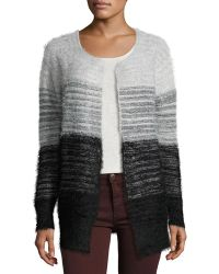 Elliatt - Take Flight Fuzzy Cardigan Sweater - Lyst
