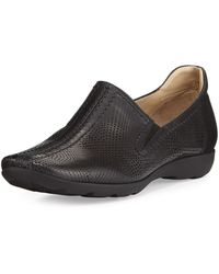 Sesto Meucci - Gabys Perforated Leather Slip-on - Lyst