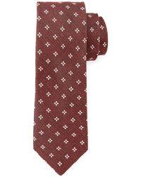 John Varvatos - Diamond Pattern Woven Tie - Lyst