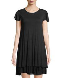 Kensie - Tiered-hem T-shirt Dress - Lyst