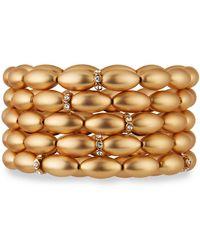 Lydell NYC - Beaded Stretch Bracelets Set Of 5 - Lyst
