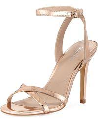 Charles David - Rome Specchio Ankle-wrap Sandal - Lyst