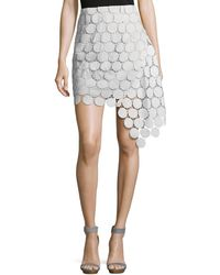 Keepsake - Spectrum Lace Asymmetric Mini Skirt - Lyst
