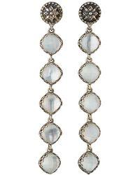 Konstantino | Aura 5-stone Mother-of-pearl Drop Earrings | Lyst