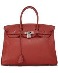 08bd6edec531 Hermès - Birkin 35 Togo Calfskin Satchel Bag - Lyst