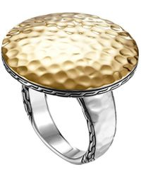 John Hardy - Dot Hammered Ring - Lyst