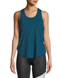 Body Language Sportswear - Jac Activewear Stretch Tank - Lyst