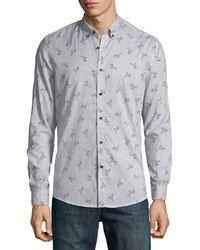 Antony Morato - Men's Slim-fit Cocktail-print Sport Shirt - Lyst