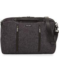 Hook + Albert - Melange Fabric 3-way Carryall Bag - Lyst
