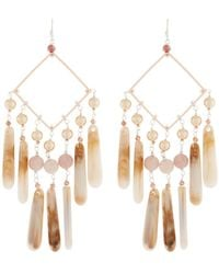 Nakamol - Pearl & Teardrop Dangle Earrings - Lyst