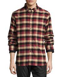 Public School - Leto Plaid Flannel Shirt - Lyst