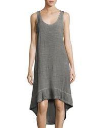 Amadi - Penelope High-low Cotton Dress - Lyst