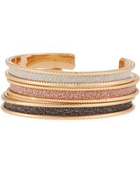 Romeo and Juliet Couture - Glitter Bracelets - Lyst