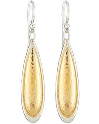 Gurhan - Amulet Elongated Teardrop Earrings - Lyst