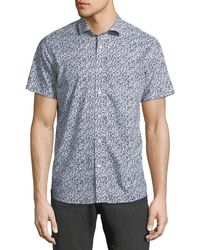 Slate & Stone - Abstract-print Short-sleeve Sport Shirt - Lyst