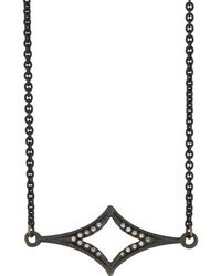 Armenta | Old World Crivelli Station Necklace W/ Champagne Diamonds | Lyst