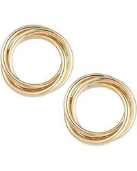 Fragments - Multi-circle Stud Earrings - Lyst