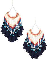 Nakamol - Multi-tassel Dangle Earrings - Lyst
