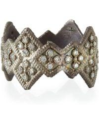 Armenta - New World Wide Diamond Stack Ring - Lyst