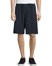 Alexander Wang - Pinstripe Board Shorts - Lyst