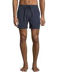 Wesc - Zack Solid Swim Shorts - Lyst