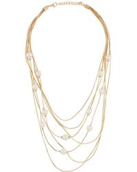 Kenneth Jay Lane - 7-layer Chain Necklace - Lyst