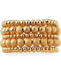 Lydell NYC - Bead Stretch Bracelets Set Of 5 - Lyst