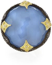Armenta | Old World 18k Crivelli Chalcedony Ring | Lyst