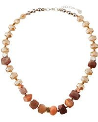 Nakamol - Chunky Stone & Crystal Necklace - Lyst