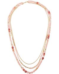 Lydell NYC - Long Multi-strand Necklace - Lyst