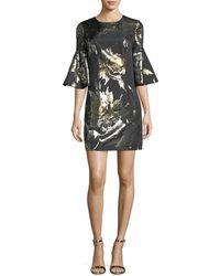 Trina Turk - Rachelle Metallic Jacquard Dress - Lyst