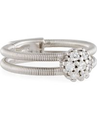 Neiman Marcus - 14k White Gold Cluster Ring - Lyst