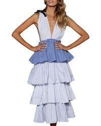 StyleKeepers - Free Spirit Ruffle Tiered Dress - Lyst
