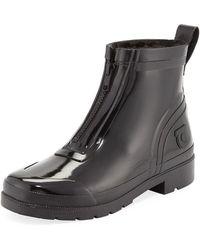 2d00e5231243 Tretorn - Lina Zip Short Shiny Rubber Rain Boots - Lyst