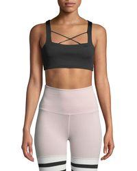 Body Language Sportswear - Kriss Strappy Sports Bra Top - Lyst