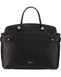 99fd42772d Furla - Agata Medium Saffiano Leather Tote Bag - Lyst