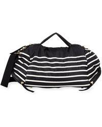 Cynthia Rowley - Alex Striped Nylon Duffle Bag - Lyst