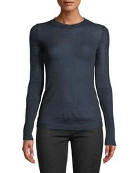Leon Max - Wool-blend Lightweight Long-sleeve Sweater - Lyst