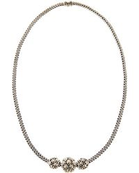 John Hardy - Jaisalmer Gold-silver Three-bead Necklace - Lyst