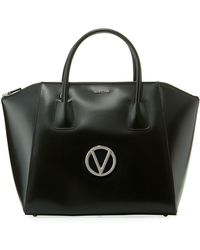 Valentino By Mario Valentino - Gigi Soave Leather Tote Bag - Lyst