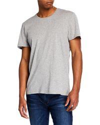FRAME - Men's Crewneck Jersey T-shirt - Lyst