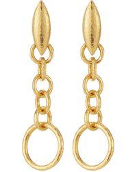 Gurhan - Hoopla 24k Wheat Dangle Earrings - Lyst