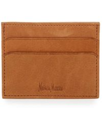 Neiman Marcus - Leather Card Case - Lyst