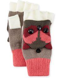 San Diego Hat Company - Knit Owl Gloves - Lyst