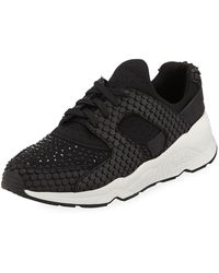 Ash - Mood Embellished Knit Sneakers - Lyst