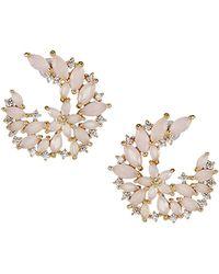 Serefina - Dewy Crystal Vine Earrings - Lyst