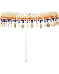 Nakamol - Beaded Collar Necklace W/ Dangles - Lyst