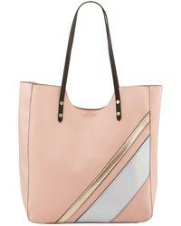 Neiman Marcus - Gidget Striped Shoulder Tote Bag - Lyst