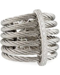 Alor - Classique Multi-row Micro-cable Band Ring - Lyst